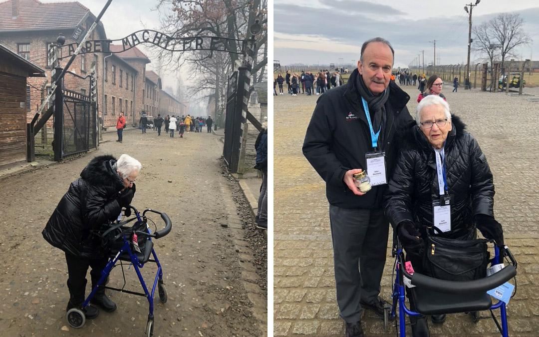 Auschwitz Survivor Recalls Her Life and Return Journey to Death Camp