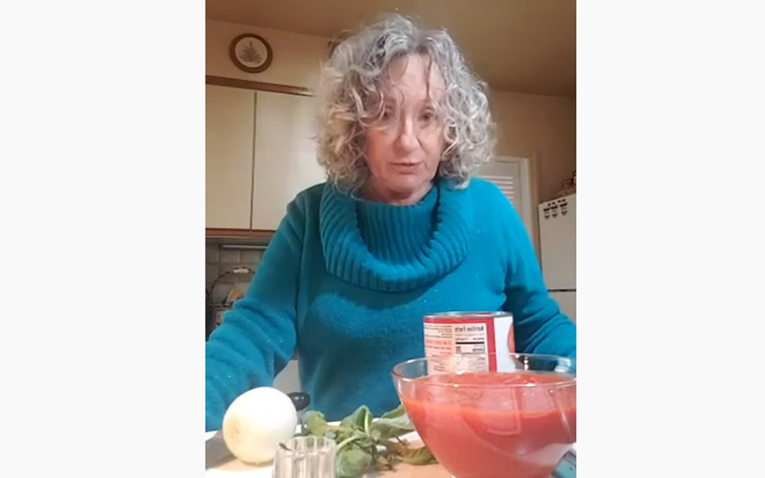 The Food Enthusiast from Home – Marinara Recipe and Online Resources