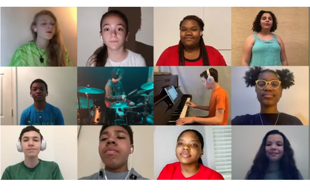 Krieger Schechter-Cardinal Shehan Choir Gives a Virtual Performance to Thank Educators