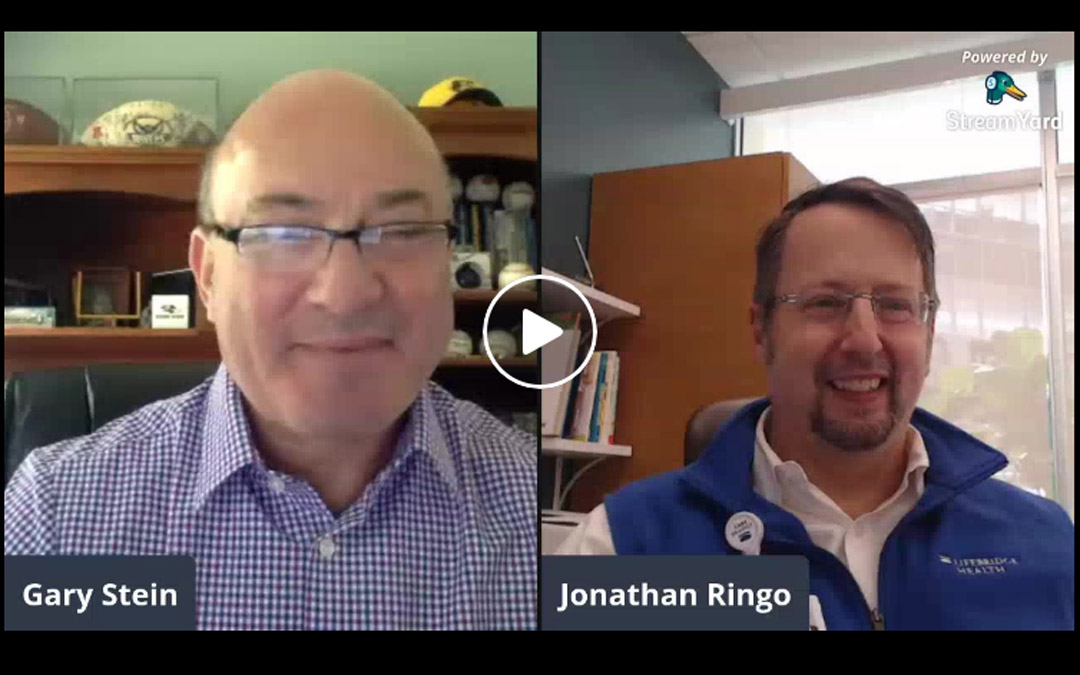 Health Innovation Series with Dr. Jonathan Ringo