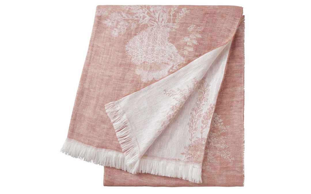 Cool spring nights call for a seriously soft blanket. From Yves Delorme, $295 (Photo by Vince Lupo)