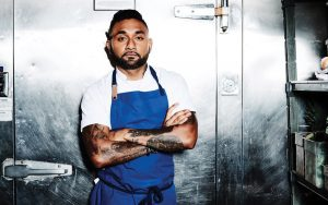 Chef Ashish Alfred is the owner of the Duck Duck Goose brasserie in Fells Point.