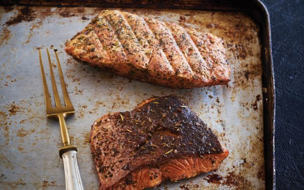 Smoked Grilled Salmon