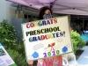 Goldsmith Early Childhood Center 2020 graduation parade 4760
