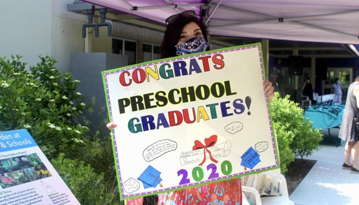 Goldsmith Early Childhood Center 2020 graduation parade