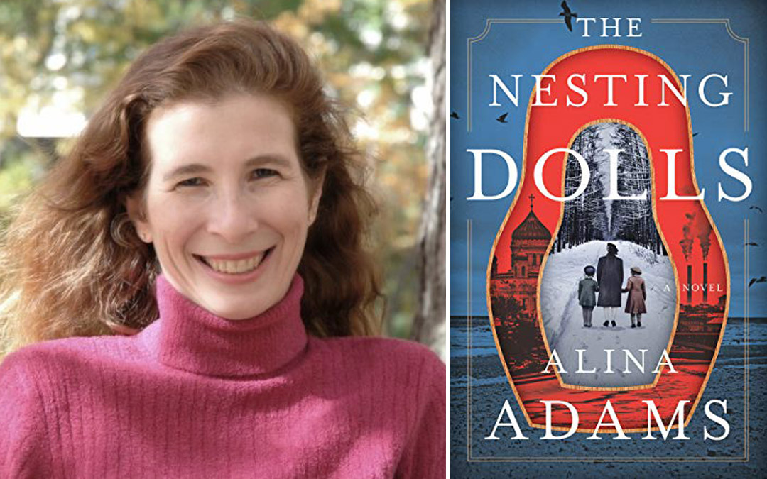 Author Alina Adams to Speak about her Russian-Themed Novel at Virtual Event Presented by CJE and Associated