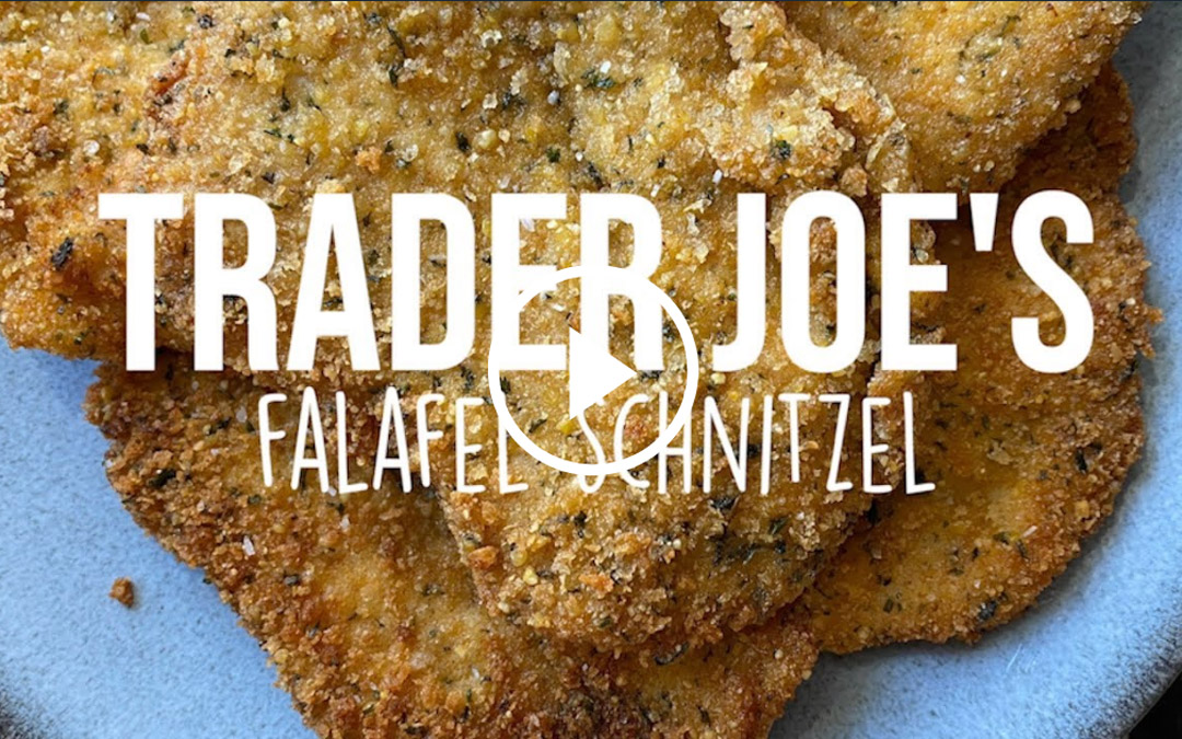 Trader Joe's Hack: Falafel Schnitzel Recipe
