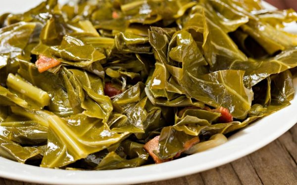chicken soup collard greens