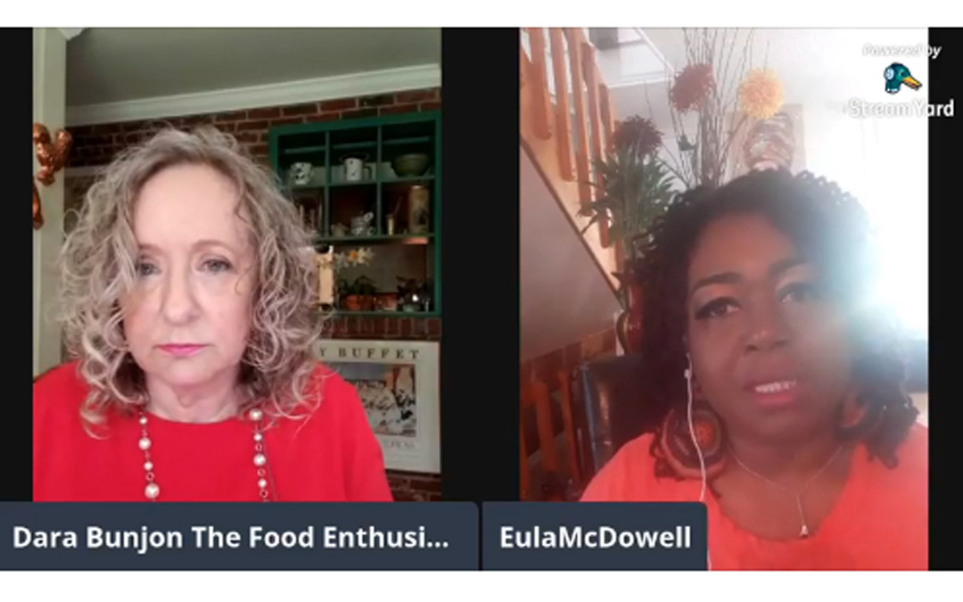 The Food Enthusiast with Guest Chef Eula McDowell