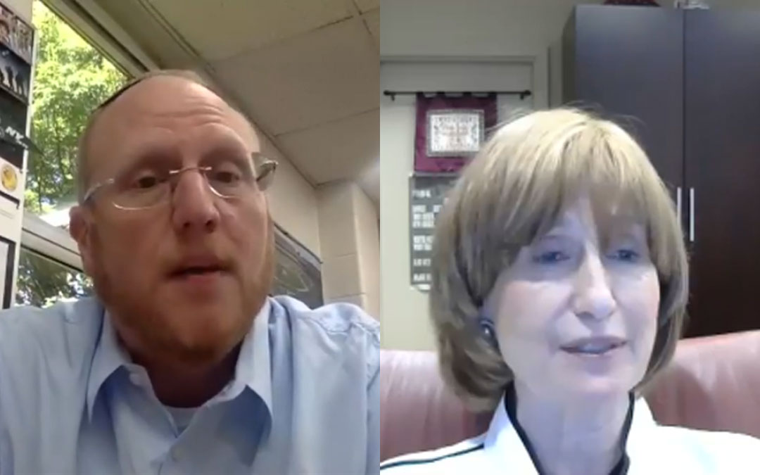 Day School Leaders Talk about Virtual and In-Person Learning during Pandemic