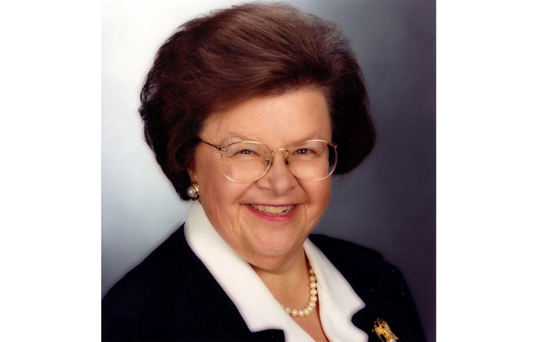 Federation of Jewish Women's Organizations to Present Talk by Former Sen. Barbara Mikulski
