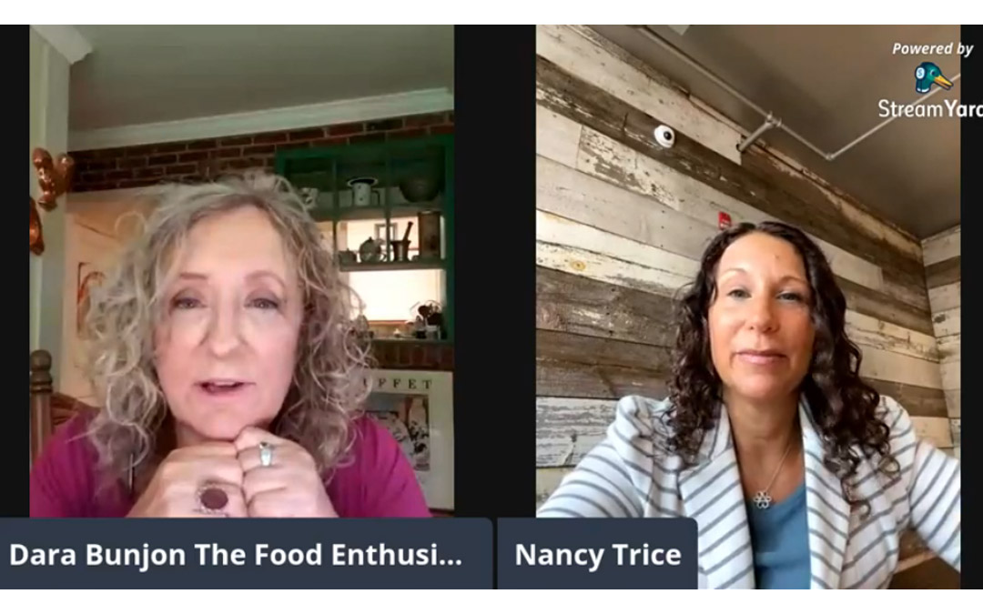 The Food Enthusiast with Guest Nancy Hart Trice