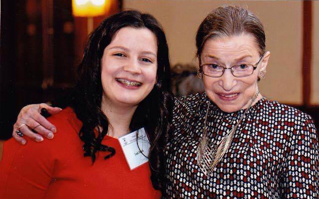 Meeting Justice Ruth Bader Ginsburg Changed My Life