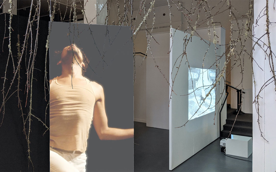 Sukkot Plays a Role in Multiracial Jewish Dancer's New Art Exhibition