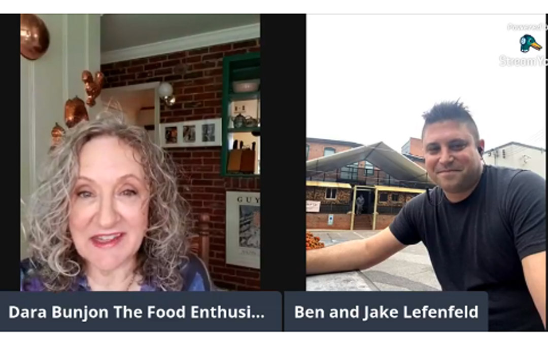 The Food Enthusiast with La Cuchara's Chef Ben Lefenfeld, Jake Lefenfeld