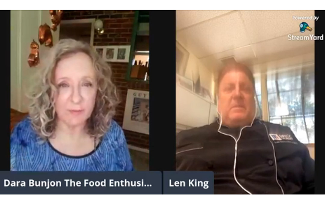 The Food Enthusiast with Guest Chef Len King