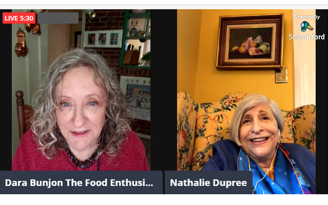 The Food Enthusiast with Guest Nathalie Dupree