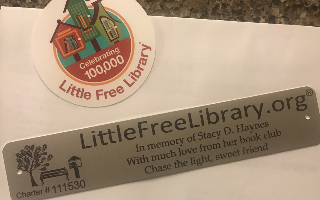 Little Free Library to be Dedicated at Owings Mills JCC in Memory of Stacy D. Haynes