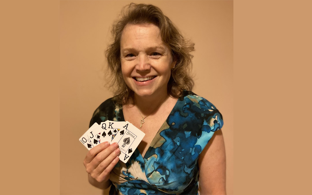 Owings Mills Resident Jennie Faber Schwartz Wins FIDF Virtual Poker Tournament