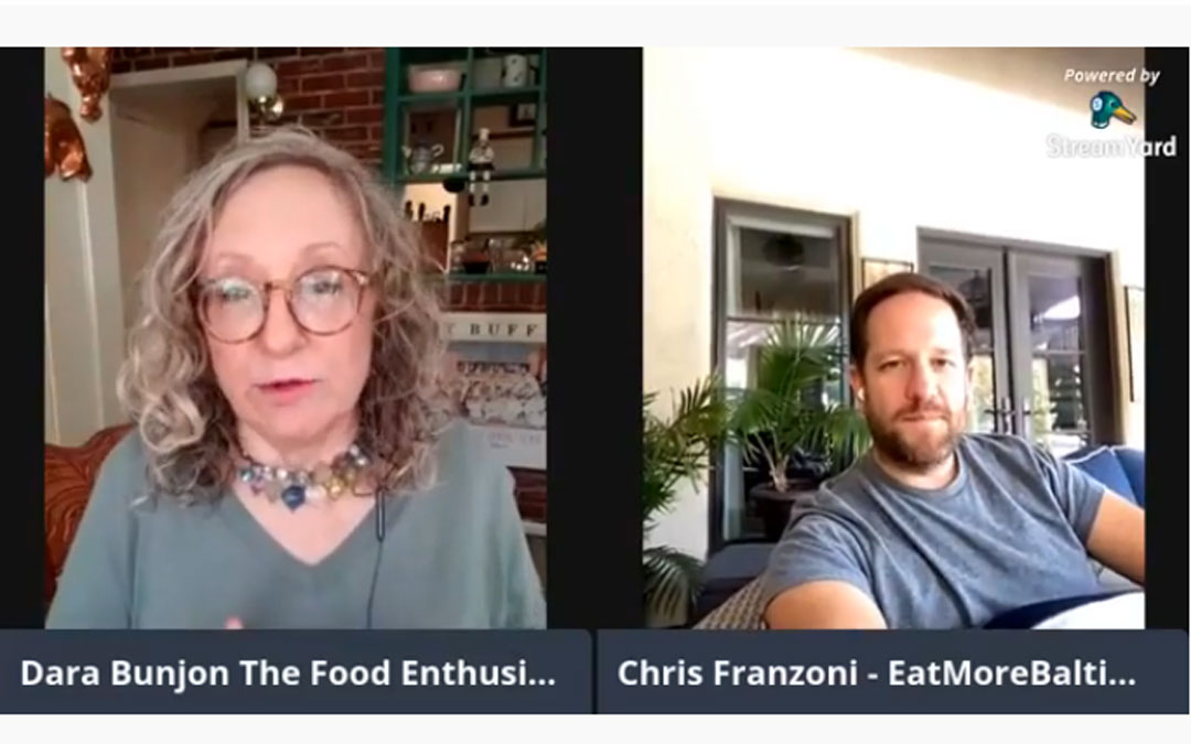 The Food Enthusiast with Guest Chris Franzoni