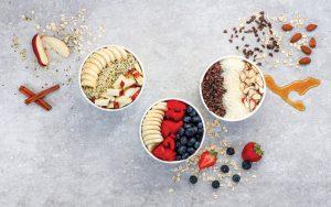 Pure Raw Juice Bar's oatmeal bowls