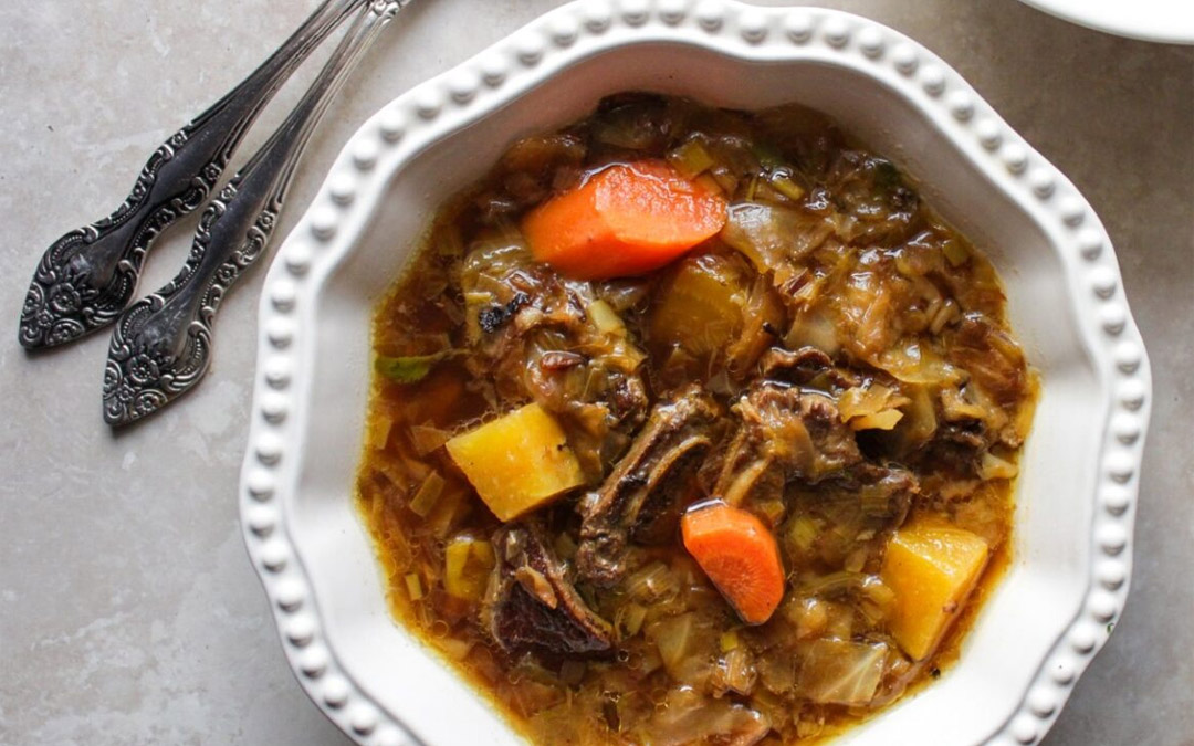 This Beety, Beefy Cabbage Soup is Perfect for Quarantine