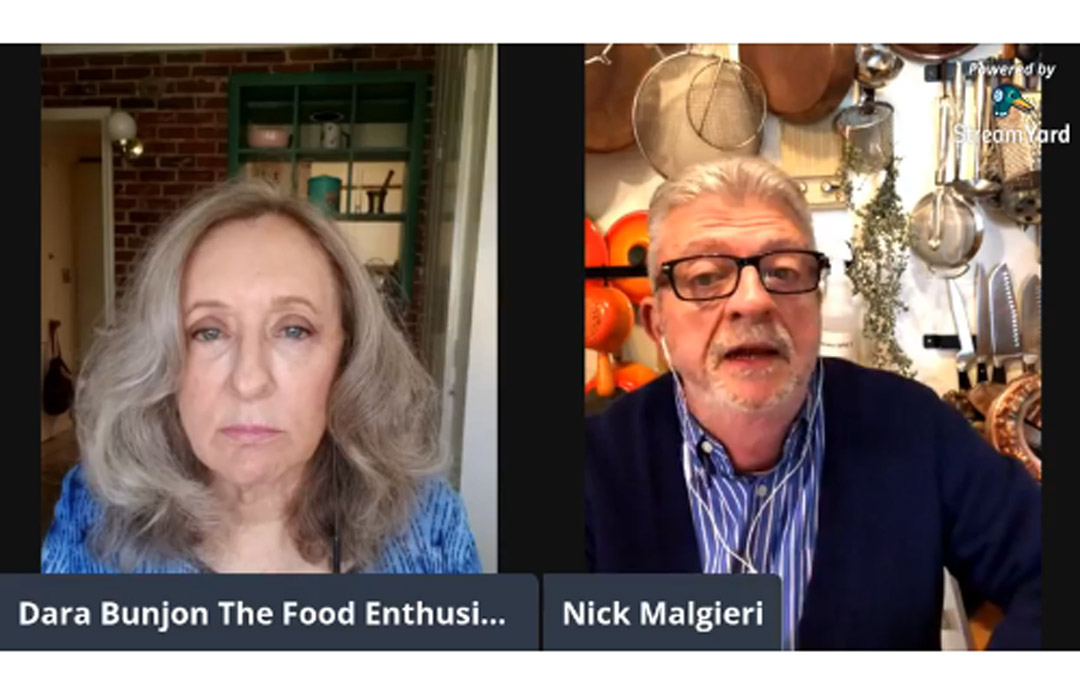 The Food Enthusiast with Guest Chef Nick Malgieri