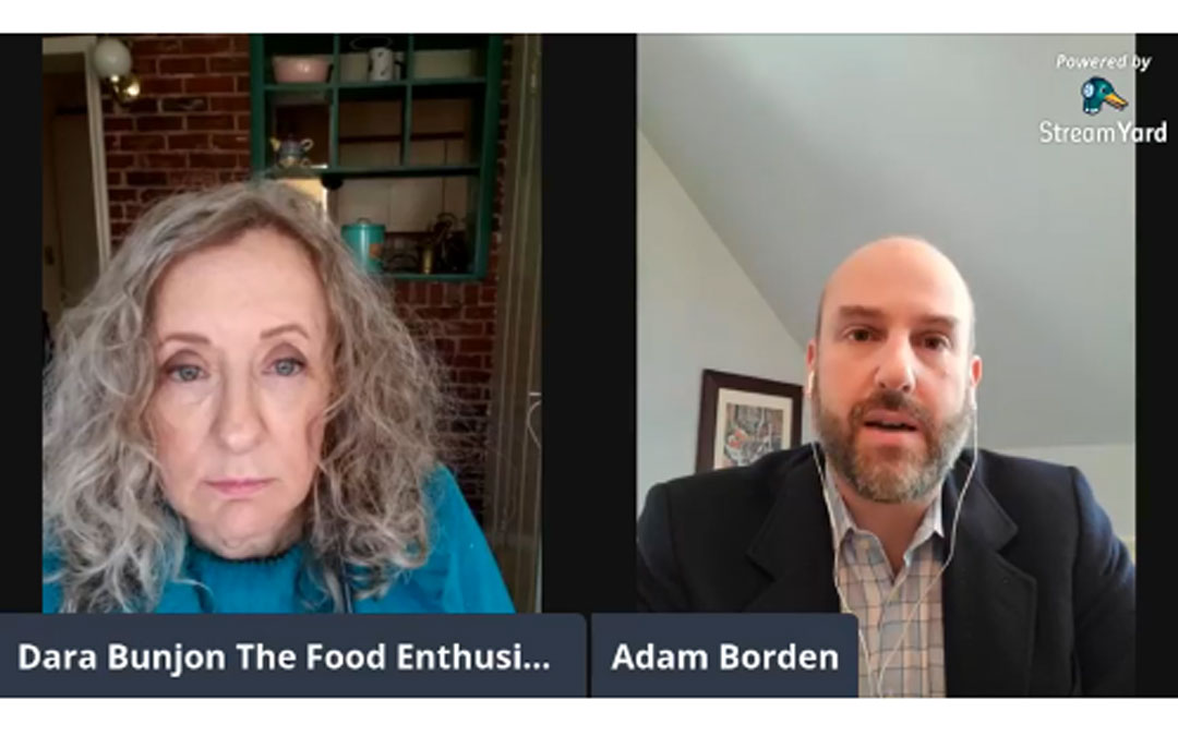 The Food Enthusiast with Guest Adam Borden