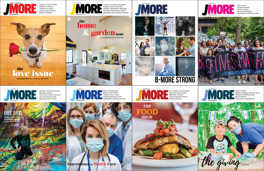 Jmore's Cover Stories of 2020