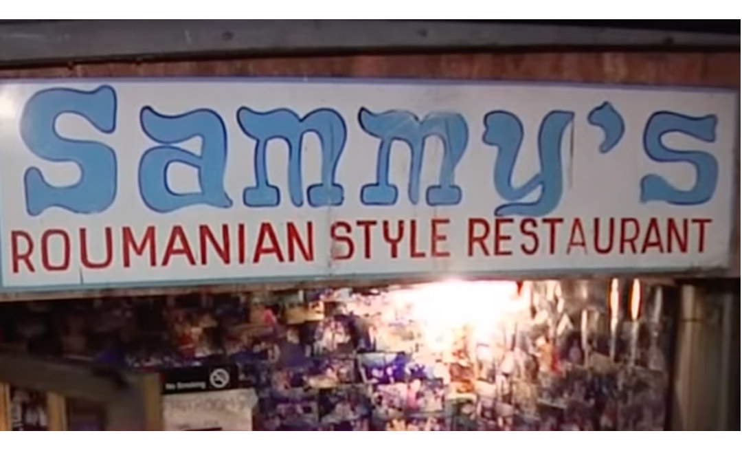 Legendary NY Jewish Restaurant Sammy's Roumanian Closes but Vows to Reopen after COVID Era